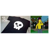 Remera Estampada - Calavera Jimbo - Los Simpsons