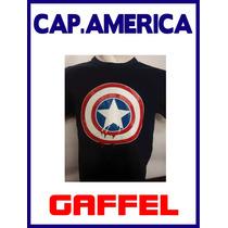 Remeras Super Héroes / Marvel: Capitán América