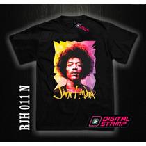 Remeras Jimi Hendrix Rock 11 Estampado Digital Miralas! Dtg