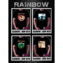 Remeras Rainbow Ritchie Heavy Metal Digital Stamp Ineditas!