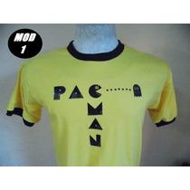 Remeras Diseños Retro Pacman