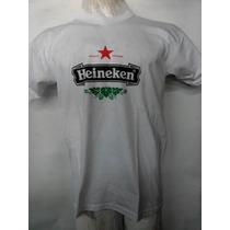 Remeras Talles Especiales Heineken