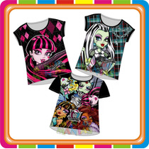 Remera Monster High - Originales - Mundo Manias