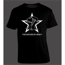 Remera Sisters Of Mercy, Post Punk Dark Gothic Gótico