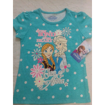 Remeras Frozen Disney Originas
