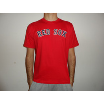 Remeras Estampados Personalizadosmlb Boston Red Sox Baseball