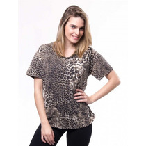 Remera Animal Print By Deep