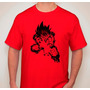 Remera Estampada Anime Dragon Ball Z Goku Kame Hame Ha
