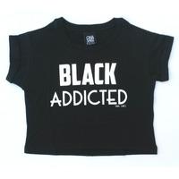 Remera Black Addicted - Ona Saez Kids 2015