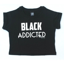 Remera Black Addicted - Ona Saez Kids 2015