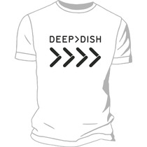 Remera Deep Dish Estampada Ploteada Vinilo Creamfields
