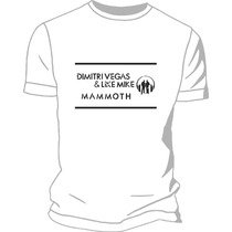 Remera Dimitri Vegas & Like Mike Estampada Creamfields 2014