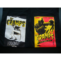 Remeras The Cramps Punk Monster Pinup Ramones Transfer!