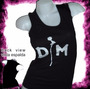 Depeche Mode Pop Rock Remera Dama Musculosa Oferta