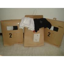 Remera Algodon Lisa La Mejor (olivos) Pack 2, Blanca Y Negra