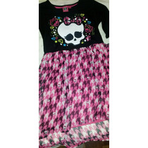 Vestido Exclusivas Original Monster High!