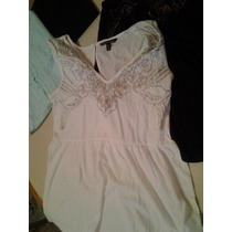 Remera Musculosa Victoria´s Secret Top Tachitas Talle M Y L