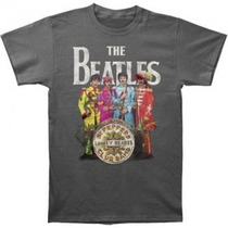 Remeras The Beatles Sgt Pepper´s Import Nueva Bolsa Cerrada!