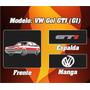 Remera Volkswagen Gol G1 Gti, 100% Algodon Ac Estampas