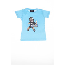 Remera Nene Kevingston Estampada M/c N