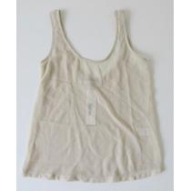 Musculosa Transparente Crudo Cuesta Blanca T 40
