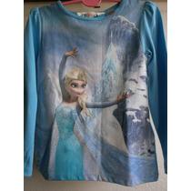 Remera H&m Mangas Largas Disney Frozen Origen España T2/4