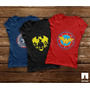Remeras Mujer Comics Batman Superman Starwars Joker Wonder