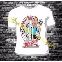 Remera Futbol Diseños Huracan