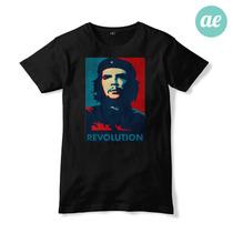 Remeras Estampadas. Che Guevara. 100% Algodón.