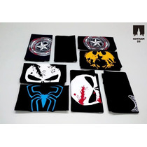 Remeras Super Heroes Spiderman Batman Capitan America