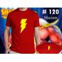 Shazam: Remeras Estampadas De Comics
