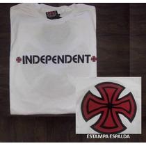 Remera Independient Original - Blanco L - Precio Outlet 1º