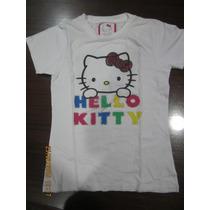 Remera Hello Kitty Original Talle 14 Niña