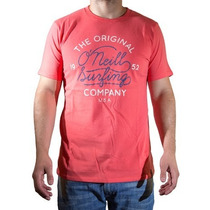 Remeras O´neill The Original Company Amarillo-celeste-crudo