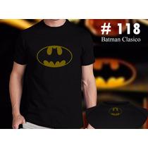 Batman Clasico: Remeras Estampadas De Comics