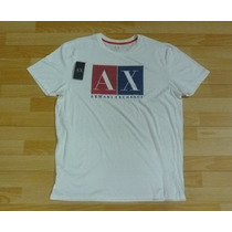 Remera Original Armani Exchange Ax Talle Xl