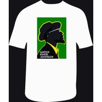 Reptilia Remeras Reggae Linton Kwesi Johnson (código 01)