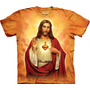 Remera The Mountain Sagrado Corazon / Bajo Pedido_exkarg