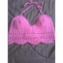 Top Bikini Corpiño Crochet