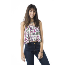 Top Mujer 47 Street Butterfly