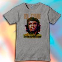 Remera Unisex Estampada Che Guevara Politica No Message