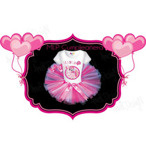 Remera Manga Larga + Tutu - Personalizada My Little Pony 6y8