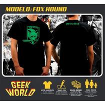 Remeras Geek - Fox Hound, Metal Gear - Geekworld Rosario!