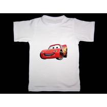 Remeras De Cars Para Chicos!! Miralas!! Rayo Mcqueen
