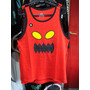 Musculosa Skate Toy Machine (color Rojo) - Talle S