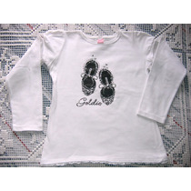Remera Blanca C/estampa, T 14 (chico), Hermosaaa!!!!