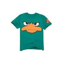 Remera De Perry, Phineas Y Ferb. Original De Disney