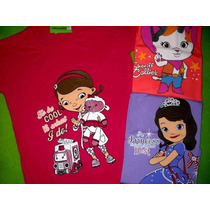 3 Camisetas Mangas Largaspara Niñas Nenas Del Talle 2 Al 12