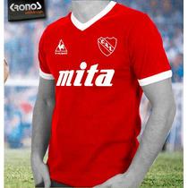 Remera Retro Independiente Topper Mita Lecop Xs Al Xxxl