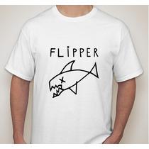 Remera Flipper Kurt Cobain